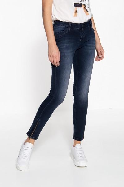 ATT JEANS Slim Fit Jeans mit Reißverschlüssen an den Beinabschlüssen Carron
