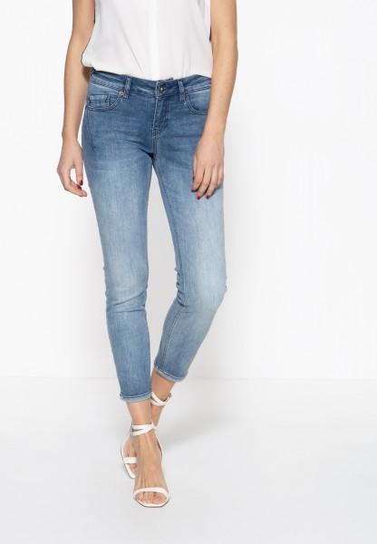 ATT JEANS Damen 5-Pocket Jeans mit legeren Waschungen »Leoni«