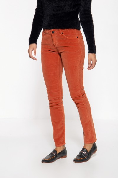 Slim Fit Hose »Belinda Velvet«