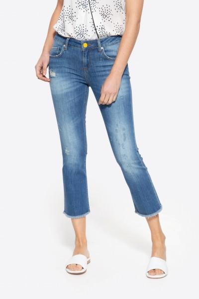 7/8 Jeans mit coolem Destroyed-Effekten »Brenda«