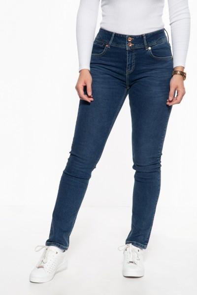Slim Fit Jeans mit hohem Bund »Chloe«