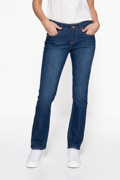 ATT JEANS Straight Cut Jeans »Stella« mit Kontraststeppungen Stella