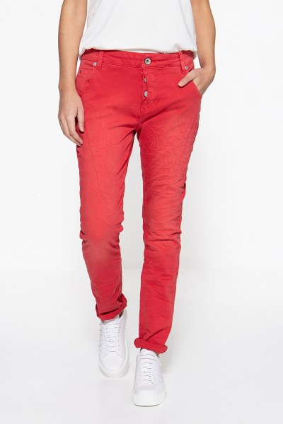 ATT JEANS Boy Fit Jeans »Gwen« mit Crinkle Optik Gwen