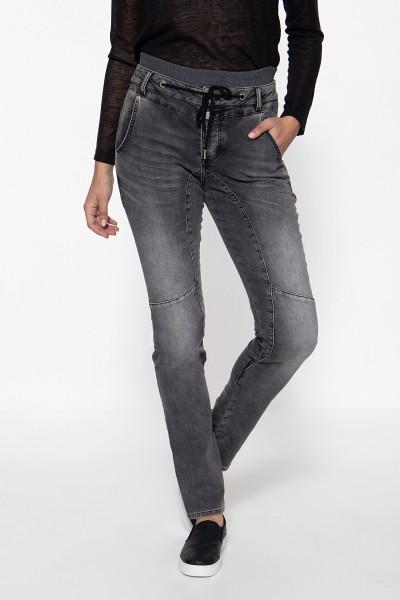 ATT JEANS Boy Friend Jeans mit Rippbündchen Kira