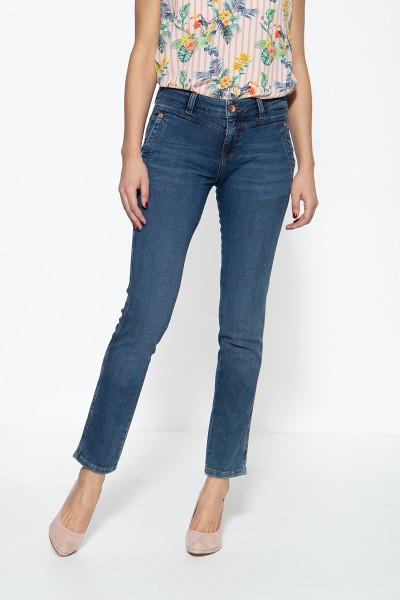 5-Pocket Jeans mit französischen Eingrifftaschen Zoe Jog